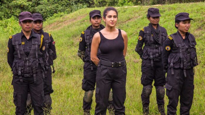 'Mission Frontline' with Sara Ali Khan'; training with Veerangana Force