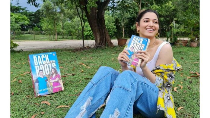 Tamannaah Bhatia launches book 'Back to the Roots'