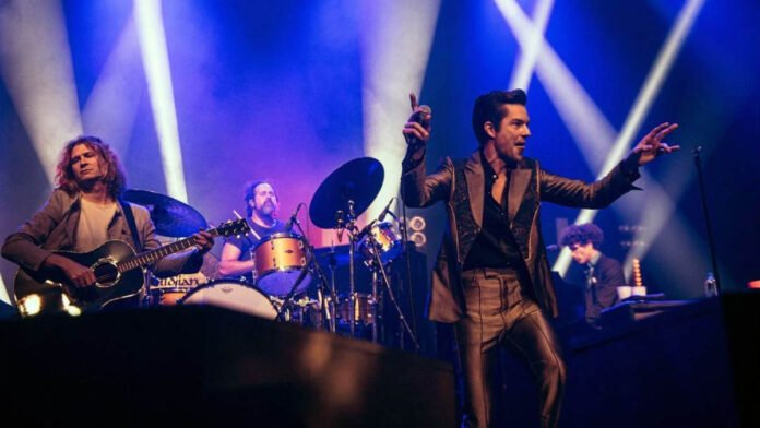 'The Killers' #1 album on UK albums chart with 'Pressure Machine'