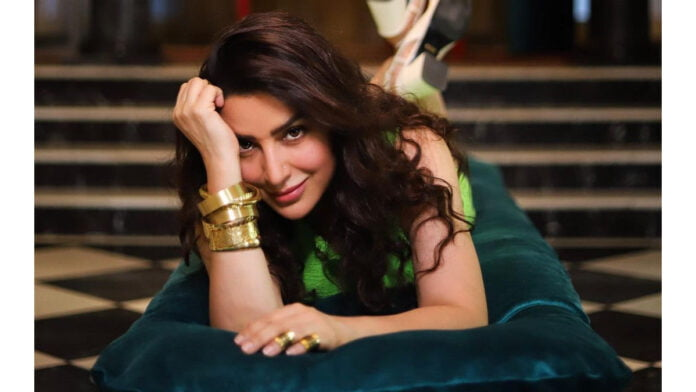 Tisca Chopra misses her daughter while shooting outdoors