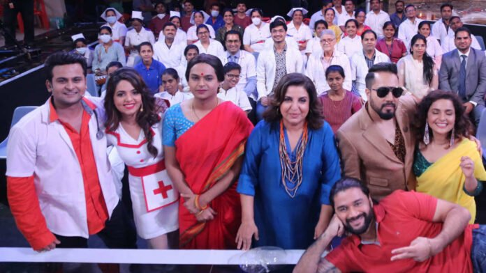 How Chitrashi Rawat interacted with frontline workers on comedy show