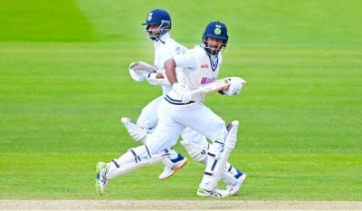 2nd Test: Rahane's fifty not enough as India struggling at 181/6 (ld)
