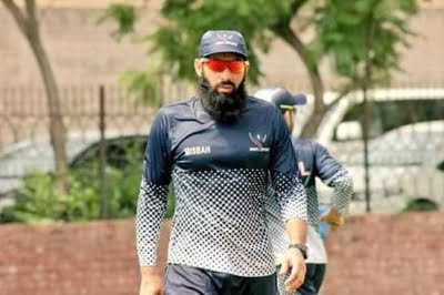 Pak coach Misbah Covid+, to stay back in Windies
