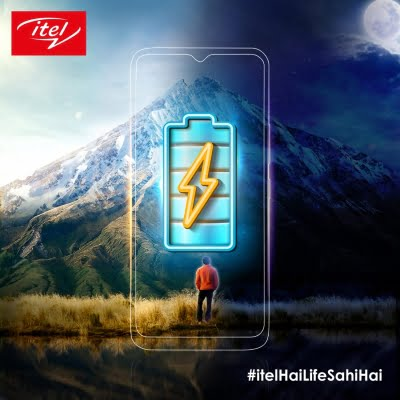 itel teases bigger powerful battery for its new smartphone