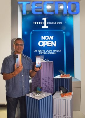 TECNO unveils its 1st exclusive retail outlet in New Delhi