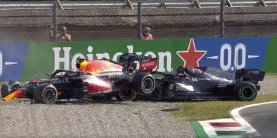 Verstappen handed 3-place grid penalty for Sochi after deadly Monza crash