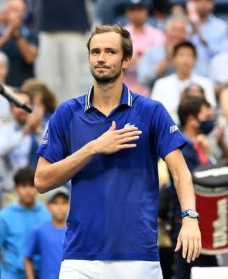 Don't think I played my best tennis: Medvedev after the win