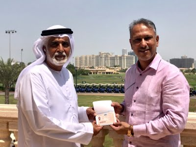 Jeev Milkha Singh becomes first golfer to be granted Dubai Golden Visa