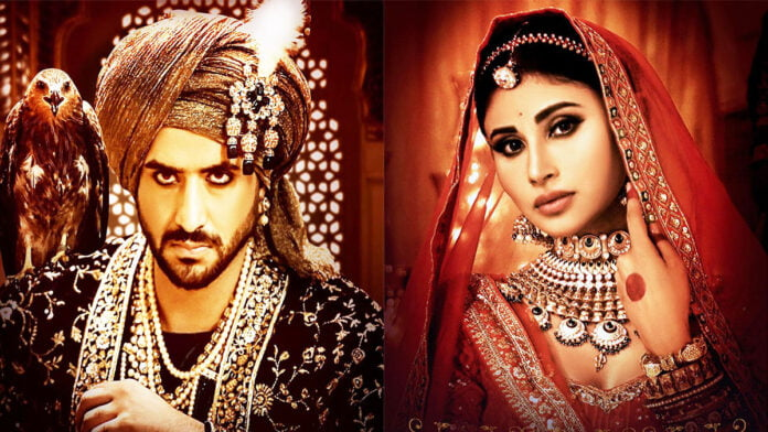 Aly Goni and Mouni Roy's intense look in a new poster of their upcoming project