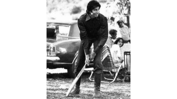 Amitabh Bachchan shares throwback cricket pic from 'Mr. Natwarlal' shoot