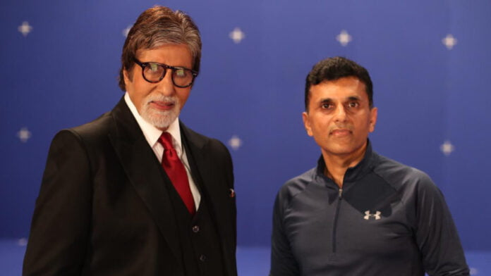 Amitabh Bachchan praises Anand Pandit for schedule in Slovakia
