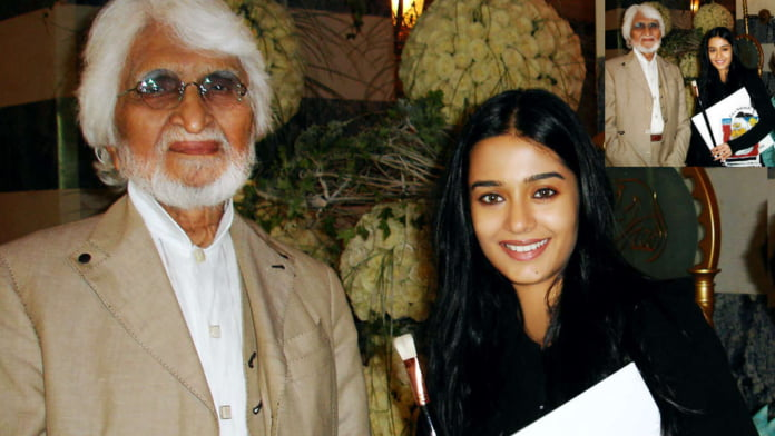 Amrita Rao remembers MF Hussain's special gift to her