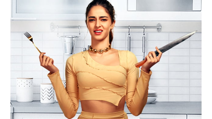 Ananya Panday goes an extra mile to surprise parents