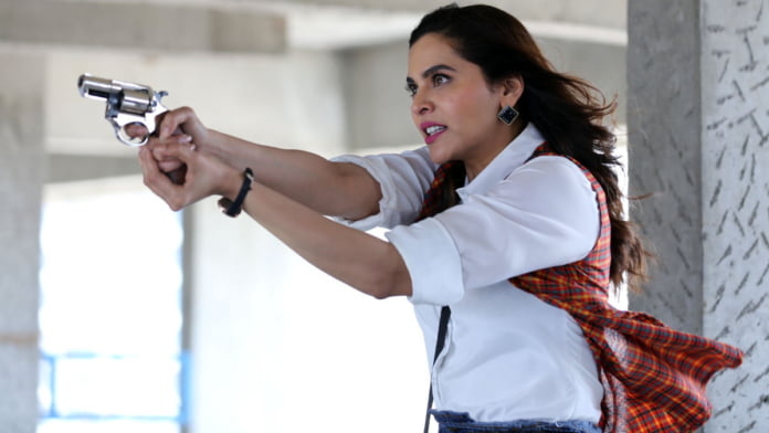 What happened when Anuja Sathe held a 'gun'!?