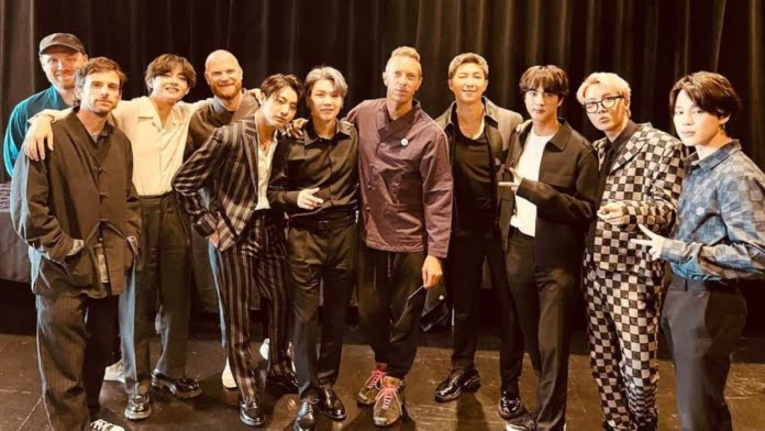 BTS, Coldplay release lyrics for 'My Universe' single