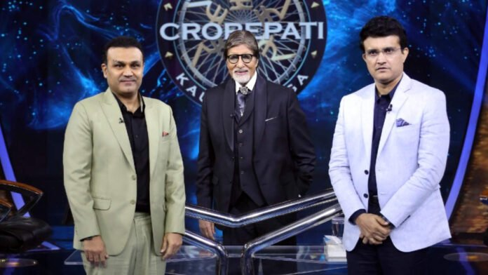 Big B tells Sourav Ganguly he was 'overwhelmed' to sing National anthem before India-Pak WC match