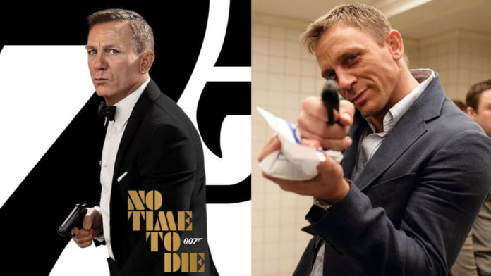 Daniel Craig, one last time as Bond in 'No Time To Die'
