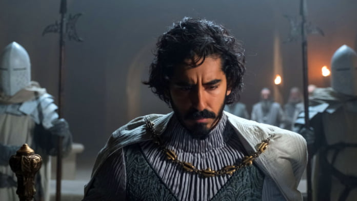 Dev Patel very often has 'imposter syndrome' like 'The Green Knight' character