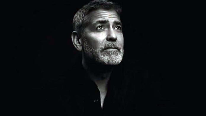 Why was George Clooney 'forced to hide' in closet
