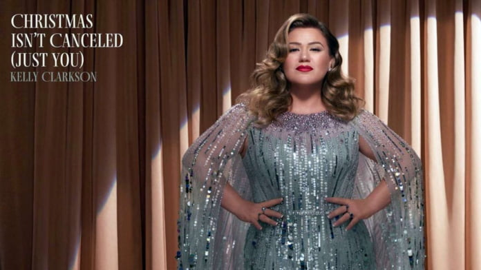 Kelly Clarkson to unveil holiday single 'Christmas Isn't Canceled (Just You)'