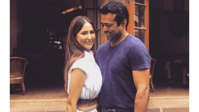 Kim Sharma confirms she's in a relationship with Leander Paes