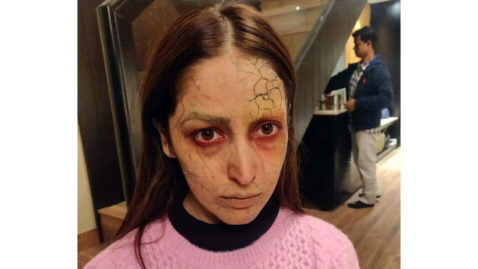 See how Yami Gautam got into 'possessed' look for 'Bhoot Police'