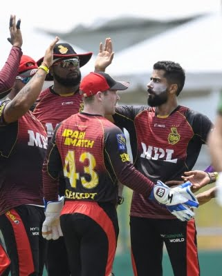 CPL 2021: Trinbago Knight Riders join St. Kitts and Nevis in top spot