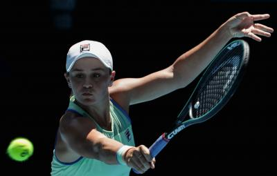 US Open: Ashleigh Barty tested before winning opening-round match