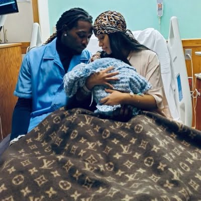 Cardi B, husband Offset welcome second child