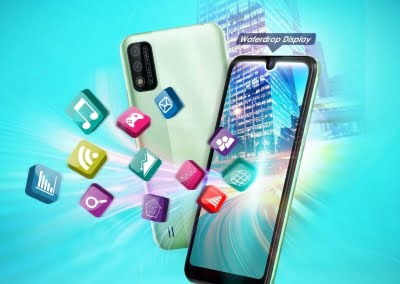 itel A26 with HD+ waterdrop display, faster face unlock