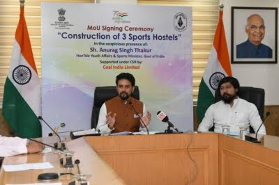 Coal India gives Rs 75 crore NSDF for building sports hostels