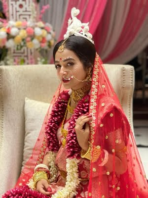 Aanchal Goswami's dream of being a Bengali bride came true