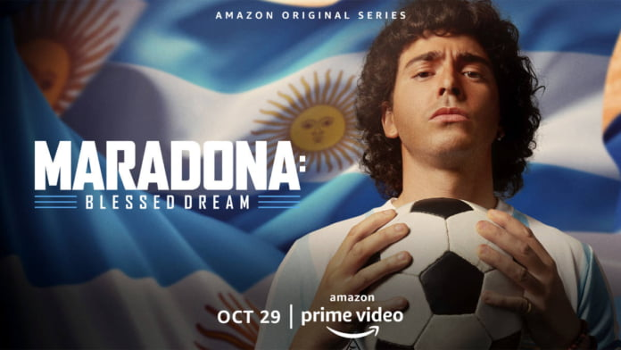 Series 'Maradona: Blessed Dream' trailer launched