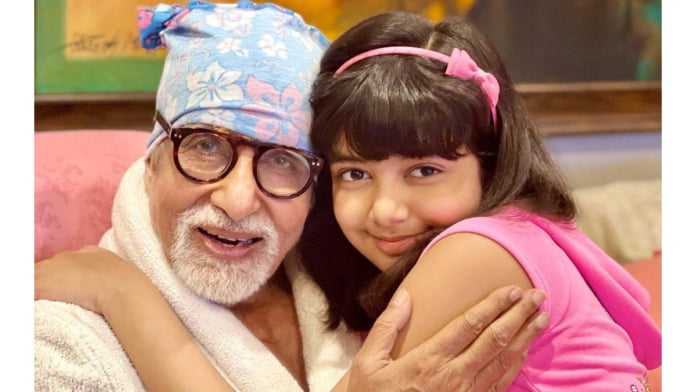 Aishwarya shares picture of Amitabh Bachchan, Aaradhya from his 79th b'day