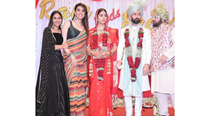Bade Achhe Lagte Hain 2 Nakuul Mehta and Disha Parmar's BTS pictures from their wedding