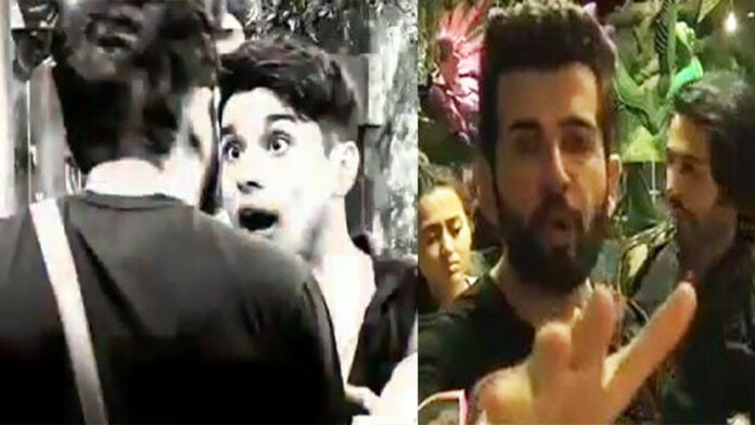 Bigg Boss 15 Pratik Sehajpal breaks glass door and get into a physical fight with Jay Bhanushali