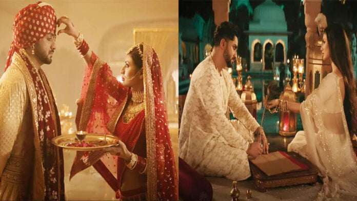 Jodaa Song Out Now Aly Goni and Mouni Roy sizzling chemistry in traditional royal look