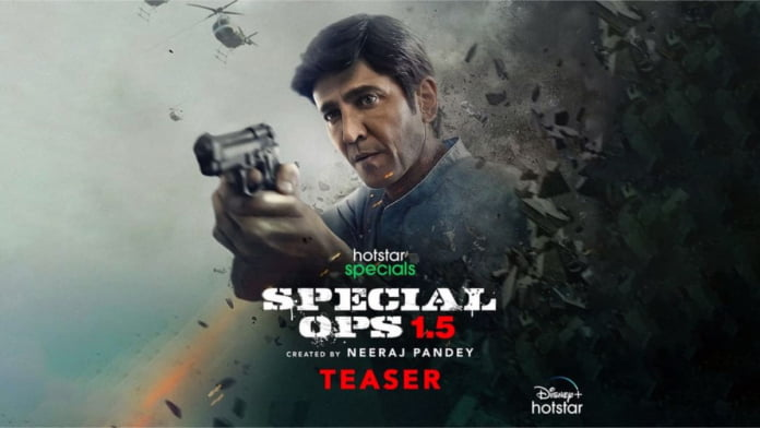 Kay Kay Menon's 'Special Ops 1.5: The Himmat Story' is packed with action