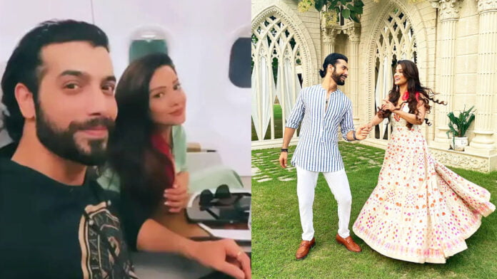Sharad Malhotra shares BTS pictures with Adaa Khan from their upcoming music video