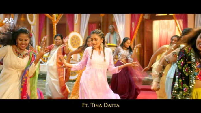 Tina Datta relives childhood days in 'Durga Maa Elo Re' with Mika Singh